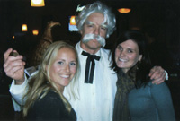 Mark Cline as Mark Twain