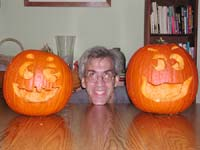 Bob and his jack-o-lanterns