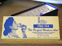 Stop Ice: the  Perfect Hostess Aid