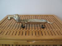 Wiener dog ashtray