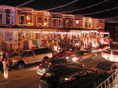 Christmas Lights In Baltimore